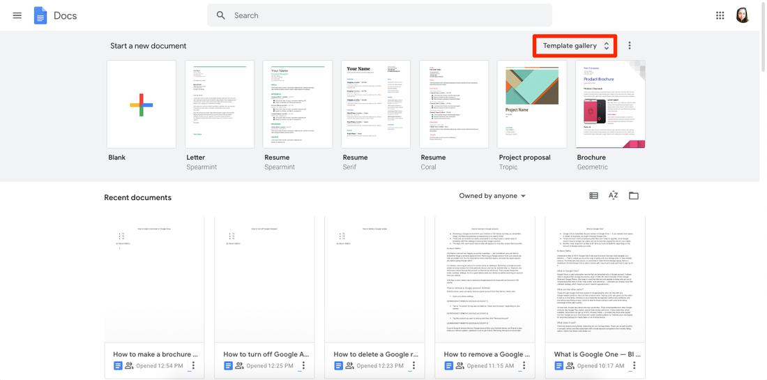 How to make a brochure on Google Docs Throughout Google Drive Brochure Templates Within Google Drive Brochure Templates