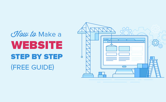 How to Make a WordPress Website - Easy Tutorial - Create Website  With Regard To Step By Step Instructions To Set Up A Professional Website On Your Own Using Web Templates Inside Step By Step Instructions To Set Up A Professional Website On Your Own Using Web Templates