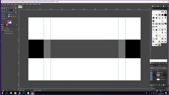 How to Make Amazing YouTube Banners in GIMP Intended For Gimp Youtube Banner Template Regarding Gimp Youtube Banner Template