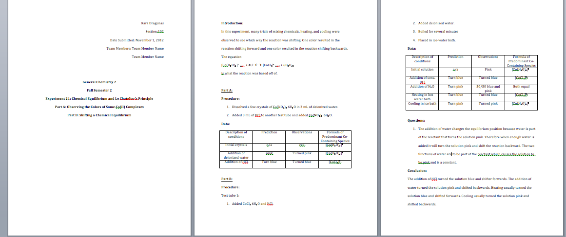 How to Write a General Chemistry Lab Report : 11 Steps - Instructables Regarding Lab Report Template Chemistry Within Lab Report Template Chemistry