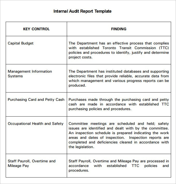 How To Write Audit Report Pdf – Get the fire audit report form Within Internal Control Audit Report Template For Internal Control Audit Report Template