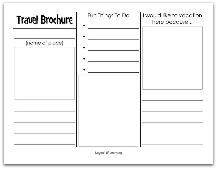 How to Write Brochures: 11 Steps (with Pictures) - wikiHow Pertaining To Brochure Templates For School Project In Brochure Templates For School Project