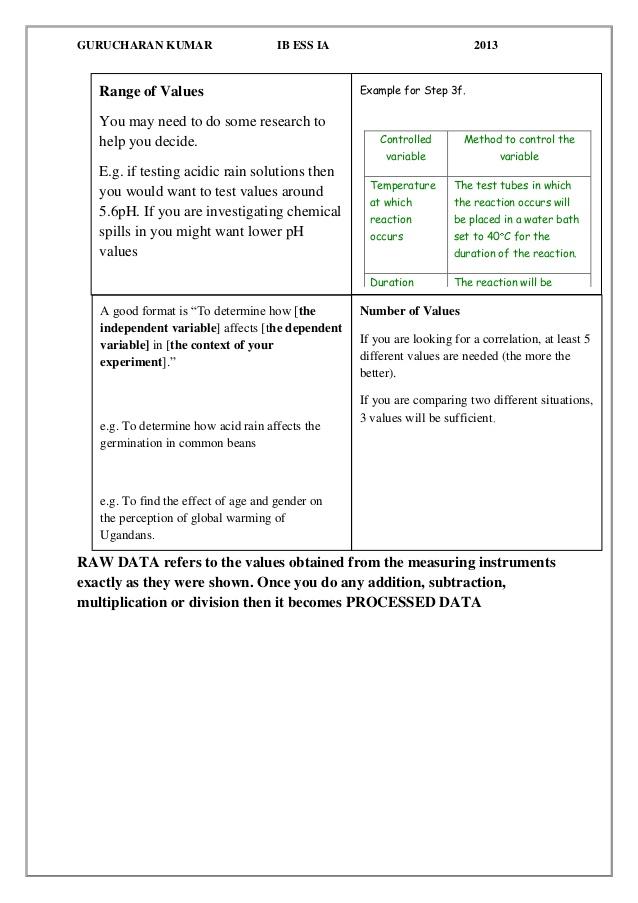 Ib bio lab report - College Homework Help and Online Tutoring Pertaining To Ib Lab Report Template