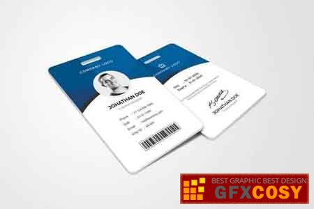 ID Card Template » Free Download Photoshop Vector Stock image Via  For Photographer Id Card Template Regarding Photographer Id Card Template