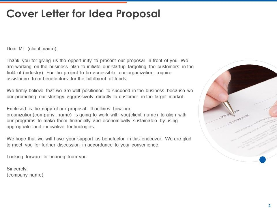 Idea Proposal Powerpoint Presentation Slides  PowerPoint  With Idea Proposal Template