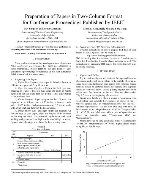IEEE Conference Paper Template - Electronic Engineering Throughout Template For Ieee Paper Format In Word Inside Template For Ieee Paper Format In Word