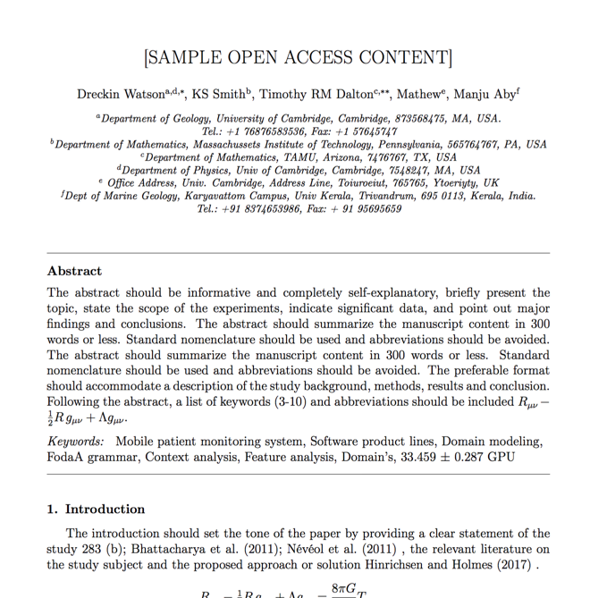 IEEE format - For Authors With Template For Ieee Paper Format In Word In Template For Ieee Paper Format In Word
