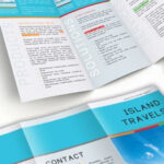 InDesign Tri-Fold Brochure Template. Free Download. Within Island Brochure Template