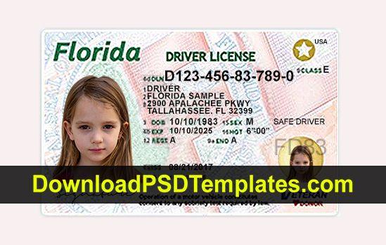 Insurance License Verification Florida With Regard To Florida Id Card Template Regarding Florida Id Card Template