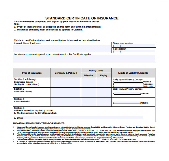 Insurance Training And Certification Regarding Proof Of Insurance Card Template Within Proof Of Insurance Card Template