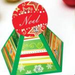 Iris folding Christmas card - Free Card Making Downloads  Card  In Iris Folding Christmas Cards Templates