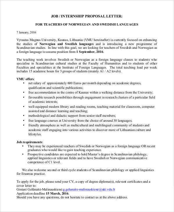 Job Proposal Template - 11+ Free Word, PDF Document Downloads  Pertaining To New Position Proposal Template Intended For New Position Proposal Template