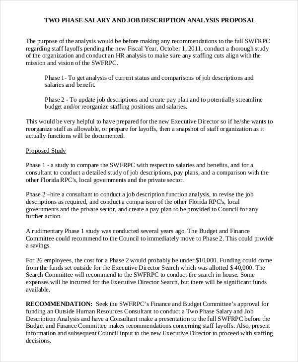 Job Proposal Template - 11+ Free Word, PDF Document Downloads  With New Position Proposal Template With New Position Proposal Template