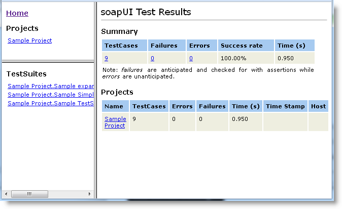 JUnit-Style HTML Reports For Automation  ReadyAPI Documentation Intended For Html Report Template Download With Html Report Template Download