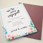 kulasara: 11 Fresh Engagement Invitation Card With Regard To Engagement Invitation Card Template