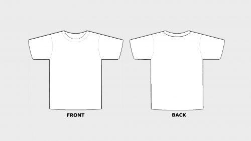 Laskati Tko sjeverni printable t shirt template - contrailfarms Inside Printable Blank Tshirt Template