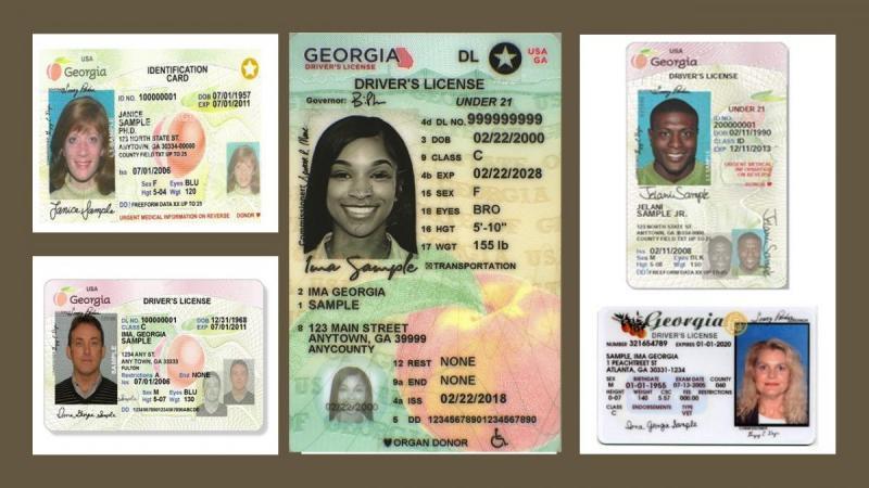 License Card Information  Georgia Department of Driver Services Regarding Georgia Id Card Template