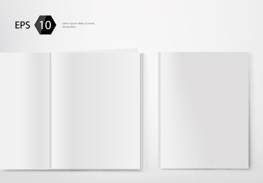Magazine blank page template free free vector download (11,11  With Blank Magazine Template Psd With Blank Magazine Template Psd