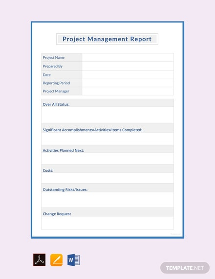 Management Report Template - 11+ Word, PDF, Apple Pages, Google  With Regard To It Management Report Template Pertaining To It Management Report Template