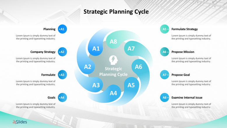 Management Strategy Templates  Free PowerPoint Templates With Strategy Document Template Powerpoint With Strategy Document Template Powerpoint