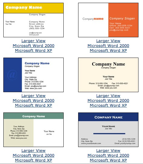 Microsoft Office Business Card Template - Business Template  With Business Cards Templates Microsoft Word For Business Cards Templates Microsoft Word
