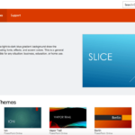 microsoft-office-template-slide - FPPT For Microsoft Office Powerpoint Background Templates