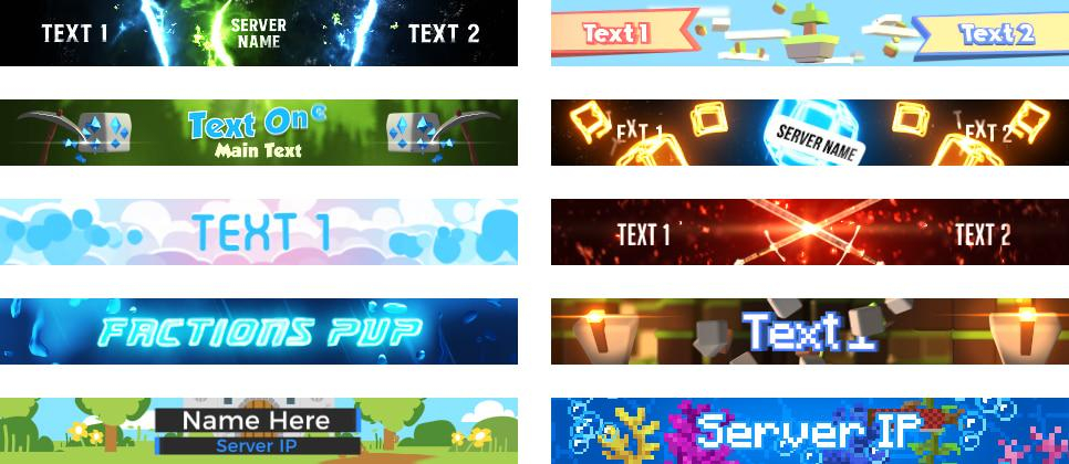 Minecraft Server Banner Guide – Woodpunch