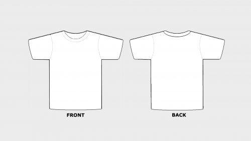 nacionalizam leđa mladi white t shirt sample Regarding Blank Tshirt Template Printable In Blank Tshirt Template Printable