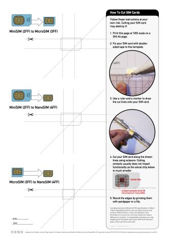Nano-SIM cutting guide – nice free printable With Sim Card Cutter Template Throughout Sim Card Cutter Template