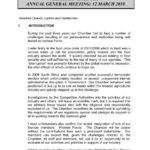 National Chamber of Milling Chairman's Report Throughout Chairmans Annual Report Template