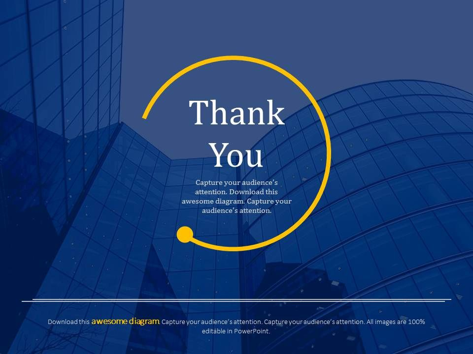 Official Thank You Card For Business Powerpoint Slides  Within Powerpoint Thank You Card Template Within Powerpoint Thank You Card Template