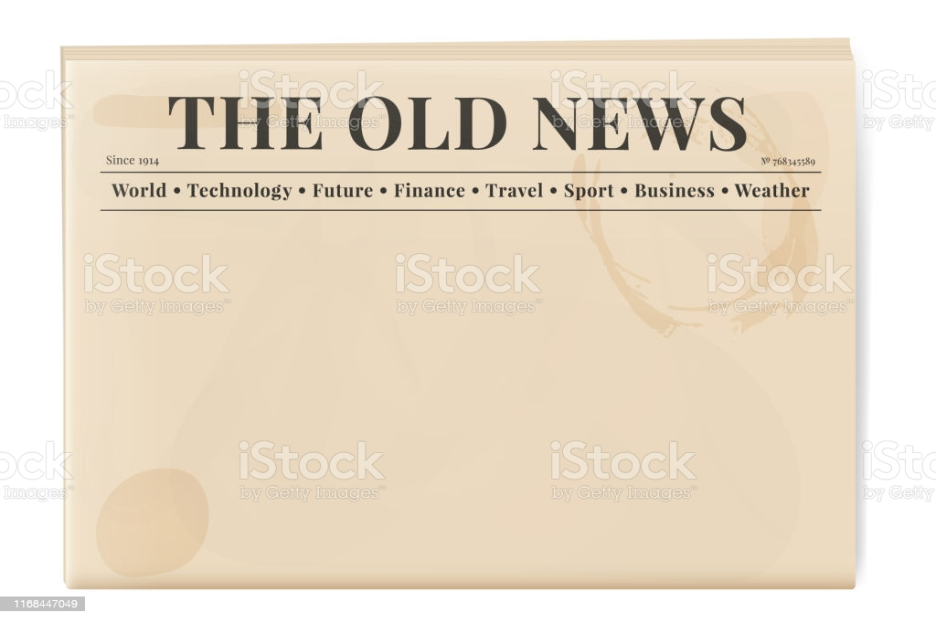 Old Newspaper Template Free Vector Art - (11 Free Downloads) Inside Blank Old Newspaper Template Throughout Blank Old Newspaper Template