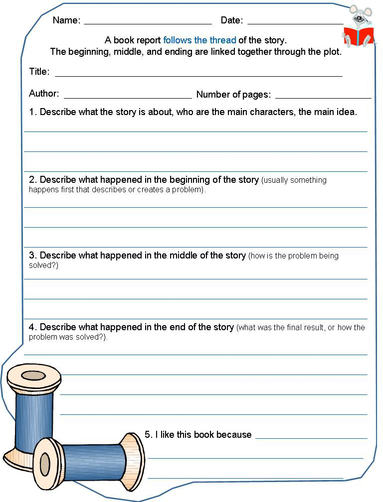 One Page Book Report Examples (Page 11) - Line.11QQ Pertaining To One Page Book Report Template