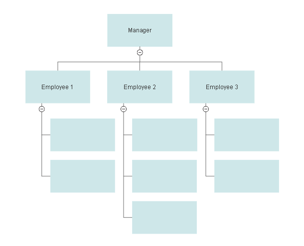 Organizational Chart Templates - Templates for Word, PPT and Excel  With Word Org Chart Template Within Word Org Chart Template