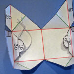 Ouvert léléphant bail pop up cube template With Regard To Pop Up Box Card Template