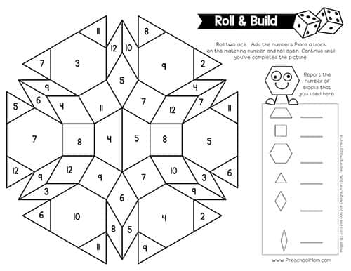 Pattern Block Pictures - Preschool Mom Within Blank Pattern Block Templates Regarding Blank Pattern Block Templates
