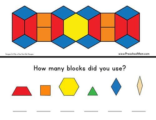 Pattern Block Templates - Preschool Mom Regarding Blank Pattern Block Templates Within Blank Pattern Block Templates