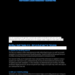 PDF) How to Start a Sushi Restaurant – Business Plan  Charles  In Why Write A Restaurant Enterprise Plan