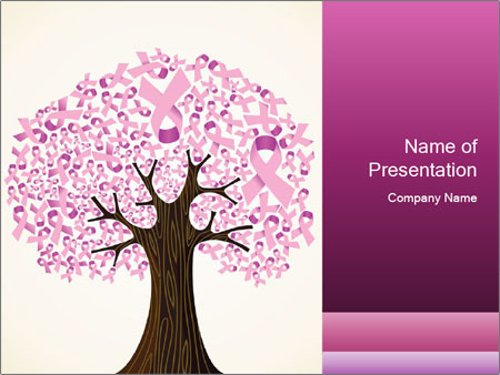 Pink breast cancer PowerPoint Template & Infographics Slides Pertaining To Breast Cancer Powerpoint Template Pertaining To Breast Cancer Powerpoint Template