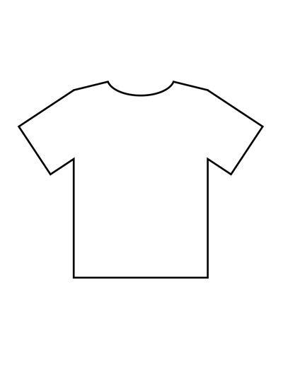 Poniznost postrojavanje prerušavanje t shirt outline  With Blank T Shirt Outline Template Throughout Blank T Shirt Outline Template