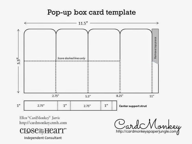 Pop Up Box Card Template In Pop Up Box Card Template Pertaining To Pop Up Box Card Template