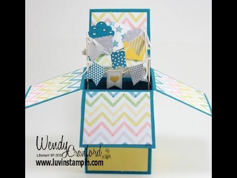Pop Up Box Card Tutorial Inside Pop Up Box Card Template Within Pop Up Box Card Template