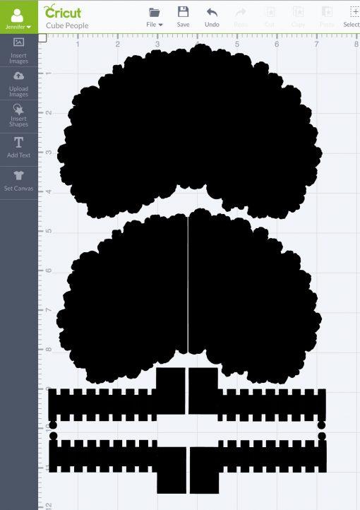 Pop-Up Paper Apple Tree Card (11D Sliceform) - Jennifer Maker Inside Pop Up Tree Card Template Throughout Pop Up Tree Card Template