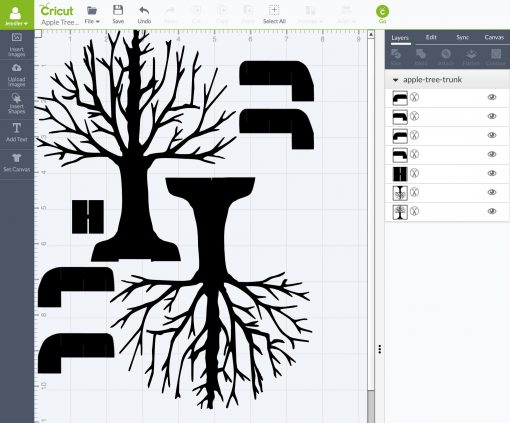 Pop-Up Paper Apple Tree Card (11D Sliceform) - Jennifer Maker Regarding Pop Up Tree Card Template For Pop Up Tree Card Template