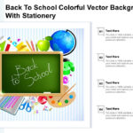 Powerpoint Template And Background With Back To School Education  With Regard To Back To School Powerpoint Template