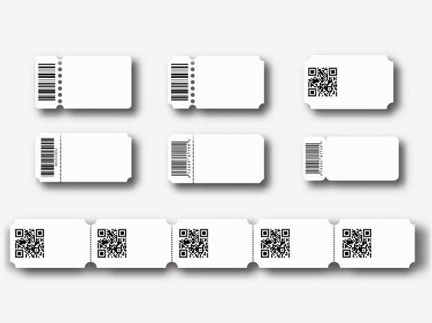 Premium Vector  Blank ticket templates Pertaining To Blank Parking Ticket Template