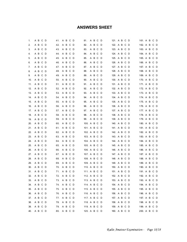 Printable Answer Key Template (Page 11) - Line.111QQ.com With Blank Answer Sheet Template 1 100