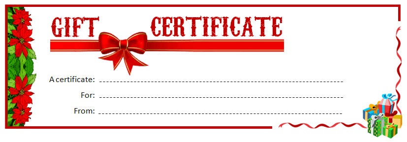 Printable Gift Certificate MS Word Template  Office Templates Online For Microsoft Gift Certificate Template Free Word For Microsoft Gift Certificate Template Free Word