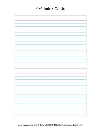 Printable Index Card Template  Template Business PSD, Excel, Word  With Word Template For 3x5 Index Cards For Word Template For 3x5 Index Cards