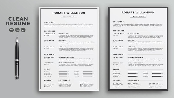 Printable Resume Template - 11+ Free Word, PDF Documents Download  For Free Basic Resume Templates Microsoft Word Pertaining To Free Basic Resume Templates Microsoft Word